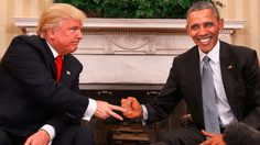 ชาวเน็ตร่วมมือกันตัดต่อภาพของ Donald Trump และ Barack Obama