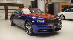 Rolls-Royce Wraith แต่งหล่อด้วยสี Dual-Tone ที่สร้างความโดดเด่นและความแตกต่าง