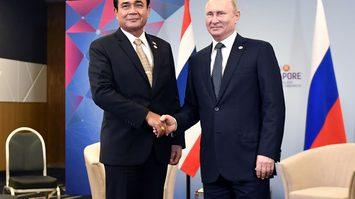 บิ๊กตู่ ถก ปูติน คุยเศรษฐกิจ ย้ำสัมพันธ์ไทยรัสเซียแนบแน่น