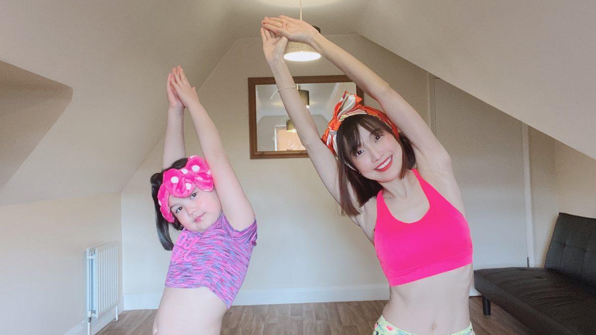 3 นาที ออกกำลังกาย ลดแขน ลดพุง เด็กๆก็ทำได้