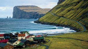 สีสันหมู่เกาะแฟโรในแอตแลนติกเหนือ