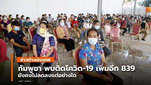กัมพูชา พบผู้ป่วยโควิด-19 เพิ่มอีกกว่า 800 ราย