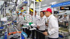 Toyota เปิดสายการผลิตแบตเตอรี่รถยนต์ไฮบริด ในประเทศไทย