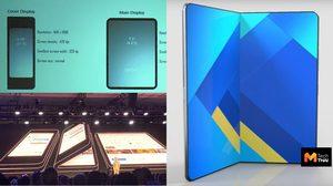 สมาร์ทโฟนจอพับของ Samsung อาจจะมีราคาสูงถึง 85,000 บาท
