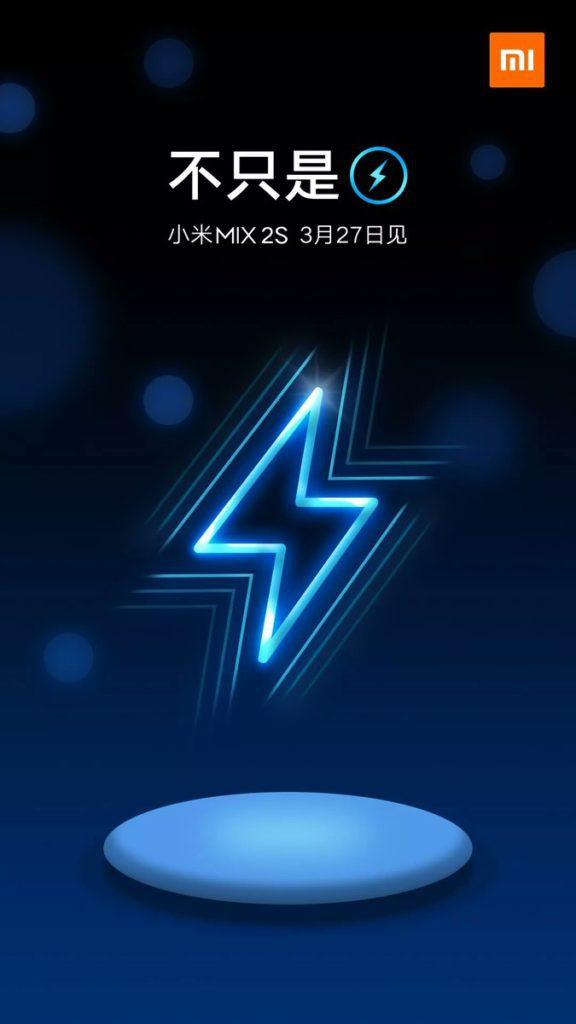 ภาพที่ Xiaomi โพสต์บน Weibo ยืนยันระบบ wireless charging บน Mi Mix 2s