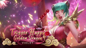 ROV เผยสกินใหม่ Violet ในวันตรุษจีน มาแล้ว!! ระดับ ESTEEM