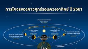 30 พ.ย.นี้ ชวนชม 'ดาวศุกร์สว่างที่สุด' ครั้งสุดท้ายของปี