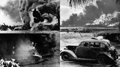 เปิดภาพประวัติศาสตร์ กองทัพจักรวรรดิญี่ปุ่นบุกสายฟ้าแล่บ ถล่ม Pearl Harbor ในสงครามโลกครั้งที่ 2