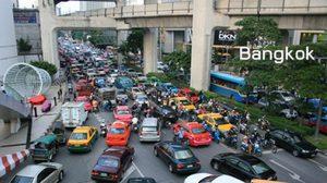 กรุงเทพฯ ติดอันดับ 2 เมืองจราจรคับคั่งที่สุดในโลก!