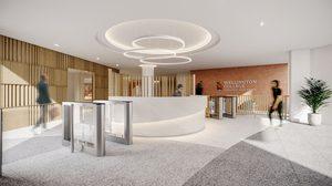 """หรูหราเว่อร์วัง """"Senior School"""" ตึกใหม่ รร. นานาชาติเวลลิงตันฯ อาคารเรียนมีต้นแบบเป็นโรงแรมหรูและห้างใหญ่"""