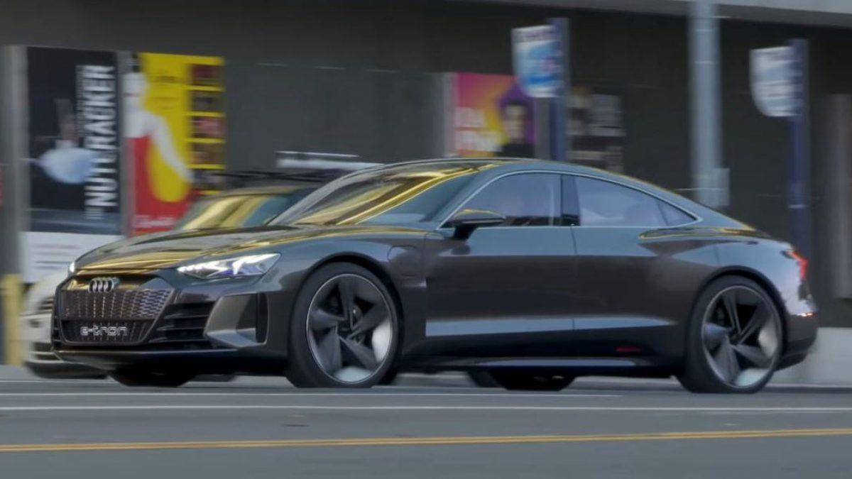 เปิดคลิป Audi e-tron GT Concept ระหว่างการวิ่งทดสอบสมรรถนะ