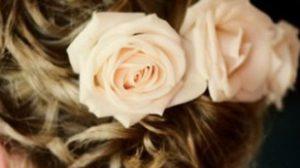 ดอกไม้แซม ทรงผมเจ้าสาว