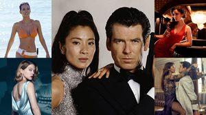 """7 บอนด์เกิร์ลสุดแซ่บ! คู่หูสาวข้างกายของ """"เจมส์ บอนด์ 007"""""""