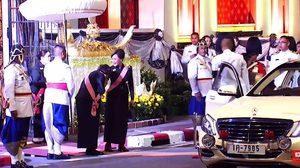 พระเทพฯ ทรงอ่อนน้อม -ยกพระหัตถ์ไหว้ ทูลกระหม่อมหญิงอุบลรัตน์