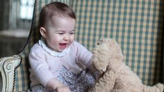 Kensington Palace released new photos of Princess Charlotte