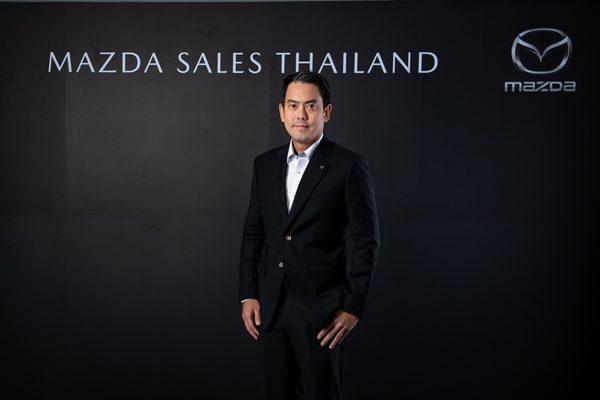 นายธีร์ เพิ่มพงศ์พันธ์ รองประธานบริหาร ฝ่ายการตลาดและรัฐกิจสัมพันธ์ บริษัท มาสด้า เซลส์ (ประเทศไทย) จำกัด