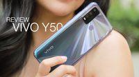 รีวิว Vivo Y50 จอใหม่ แบตฯอึด สเปคสูง เร็วแรงทะลุพิกัด ในราคาหลักพัน!