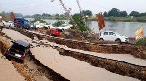 คลิปแผ่นดินไหวปากีสถาน มีคนเสียชีวิตแล้ว 22 ราย