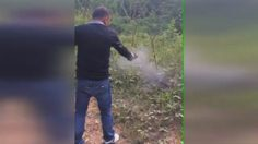 จวกยับ! คลิปกลุ่มชายฉกรรจ์ ยิงปืนใส่ไก่ เพื่อลองของขลัง