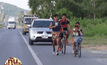 เยาวชนโคราช ปั่นจักรยานเข้าสักการะในหลวง ร.9
