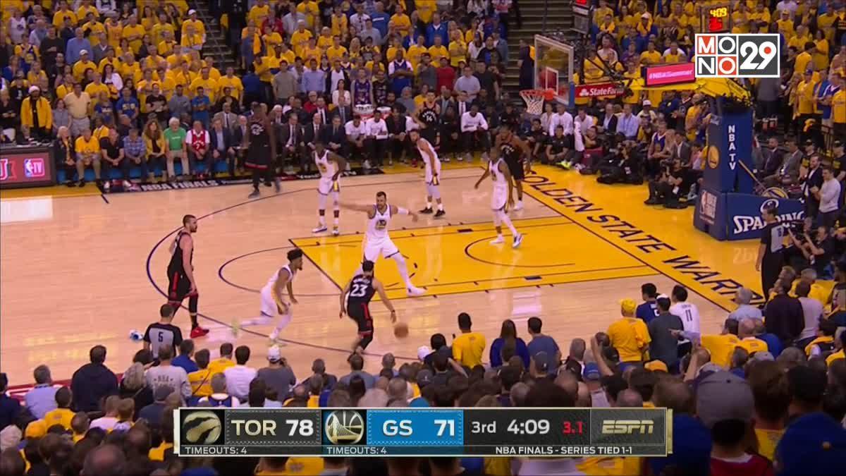 [Highlight] Golden State Warriors VS. Toronto Raptors [Game3]