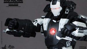 Hot toys ปล่อยสินค้า Iron man 2 War machine สีพิเศษจริงๆ