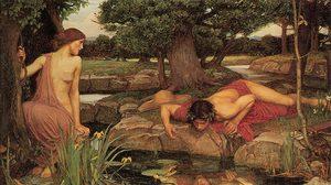 """ตำนานเทพปกรณัมกรีก """"นาร์ซิสซัส (Narcissus)"""" ผู้หลงตัวเองจนตาย"""