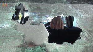 สาวเมืองชลผวา! คนร้ายบุกบ้าน ทุบกระจกรถโดยไม่ทราบเหตุ