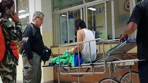 ส่งนักท่องเที่ยวชาวฝรั่งเศส ถูกจระเข้เขาใหญ่กัด เข้ารักษาตัวต่อที่กรุงเทพ