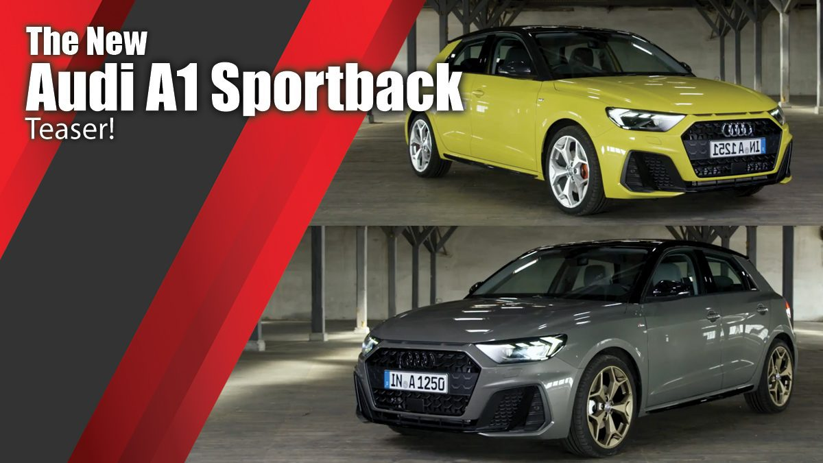 The new Audi A1 Sportback Teaser!