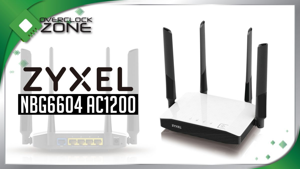 รีวิว ZYXEL NBG6604 AC1200 : Wireless Router