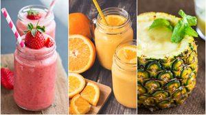 12 น้ำผลไม้ปั่น เครื่องดื่มเมนูสุดโปรดของคุณ ดื่มเพลินๆ รู้มั๊ยว่ากี่แคลอรี่?