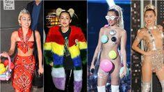 รวมฮิตคอสตูมหลุดโลกแห่งปี! ของ Miley Cyrus