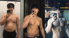 อย่าใจร้อน เป็นกำลังใจให้คนอยากลดน้ำหนัก หนุ่มเกาหลีเปลี่ยนหุ่นอ้วนสู่ล้ำบึ้ก