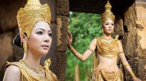 ฝ้าย สุภาพร ในชุดประจำชาติ Miss Grand International 2016 งดงามราวกับนางในวรรณคดี