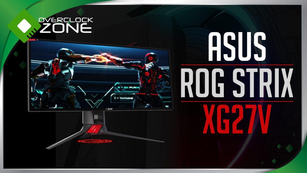 รีวิว ASUS ROG STRIX XG27V : 144Hz Curved Gaming Monitor