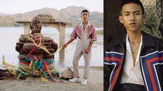 เด็กชายไทยใส่ชุด Louis Vuitton ถ่ายแบบลง GQ Germany