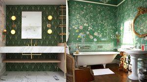 Go Green! เติมความเฟรชด้วย 21 ไอเดีย ห้องน้ำสีเขียว แต่งซะ ให้สดชื่น
