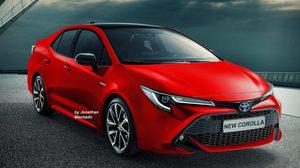 เรนเดอร์ 2019 Toyota Corolla Altis คาดการณ์น่ามีเครื่องยนต์ให้เลือก 2รุ่น