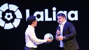 แอดโลด! ลาลีกา เปิดบัญชี LINE พร้อมขึ้นแท่นลีกกีฬาแรกของโลกบน LINE IDOL