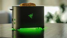 """Razer เผยโปรเจคลับ ทำเครื่องปิ้งขนมปัง """"แค่ปิ้งทานก็ชนะแล้ว"""""""