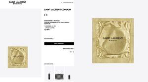 ไฮเอ็นด์แบบสุดๆ ถุงยางอนามัย Saint Laurent ชิ้นละ 70 บาท สัมผัสแบบไฮโซ