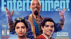 อลาดดิน, จัสมิน และ จีนี จากหนัง Aladdin ขึ้นปกนิตยสาร Entertainment Weekly