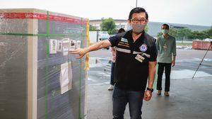 วัคซีนโควิดของซิโนแวค อีก 5 แสนโดส ถึงไทยแล้ว