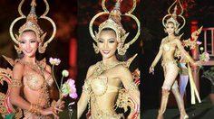 ดังไปทั่วโลก! ชุดประจำชาติ จันทกินรี ของไทย ชนะเลิศ ชุดประจำชาติยอดเยี่ยม จาก GB Awards 2015