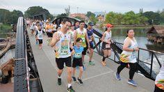 วิ่งข้ามแม่น้ำแคว! บรรยากาศงานวิ่ง ริเวอร์แคว ฮาล์ฟมาราธอน 2018