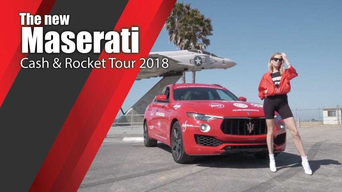 Maserati Cash&Rocket Tour 2018