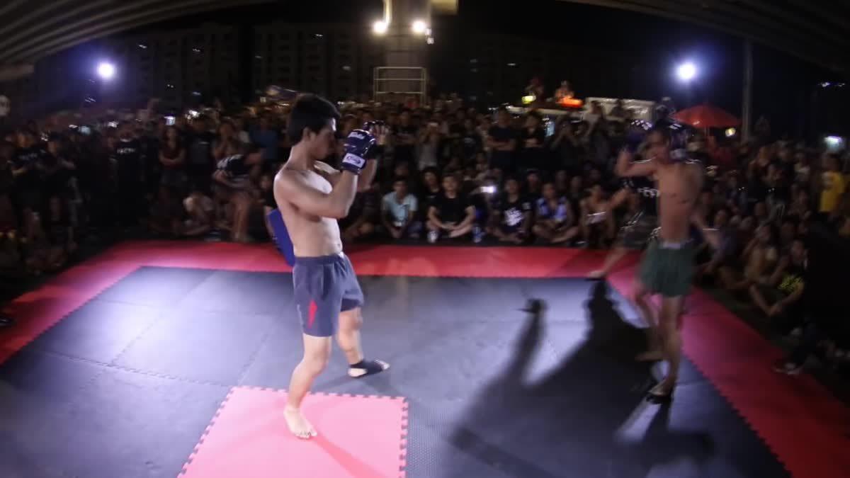 Fight Club Thailand ประชาชน เบ้น x เอก คู่ที่ 92