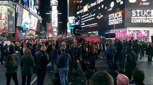 บรรยากาศมหานครนิวยอร์ก ในวันเลือกตั้งสหรัฐอเมริกา