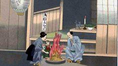 ตำนานเทศกาลบง หรือเทศกาลโอะบง ประเทศญี่ปุ่น
